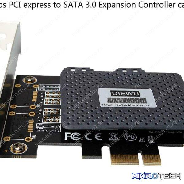 DIEWU PCI-E TO DUAL SATA 3.0 EXPANSION ADAPTER