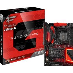 ASRock Fatal1ty X370 Professional Gaming AMD AM4 Socket Ryzen ATX Desktop Motherboard