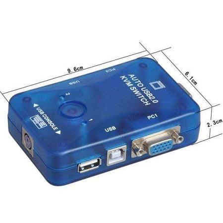 2 PORT USB AUTO KVM SWITCH NO CABLES