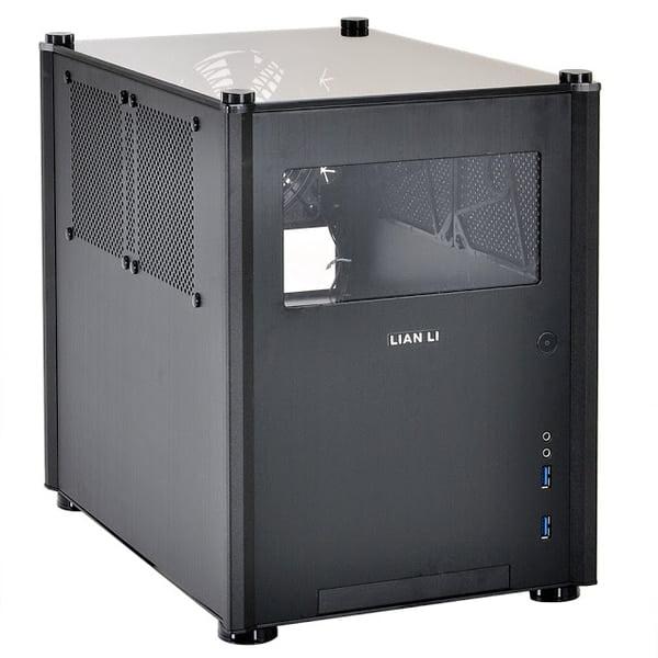 Lian-Li PC-Q36W Windowed Black Mini-Itx Chassis