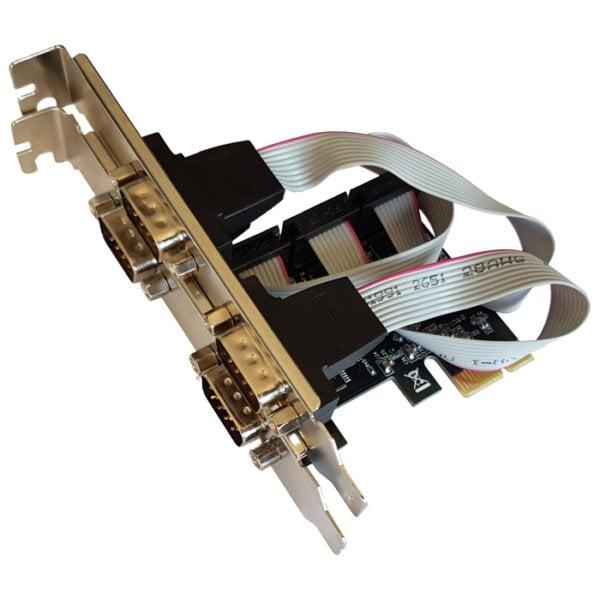 4 PORT SERIAL PCI-E CARD