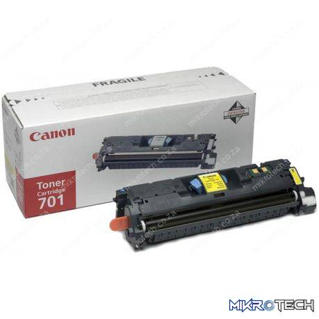 Canon 701 Yellow Toner, 4000pages