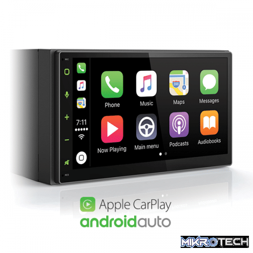 "6.75"" Universal CarPlay Android Auto System"