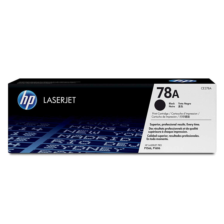 HP CE278A Black Toner - for HP Laserjet P1566 Series, P1606 Series