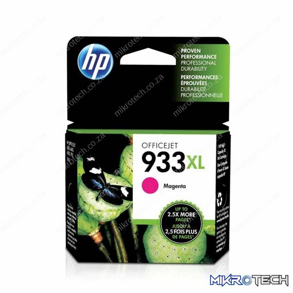 HP CN055AE no.933XL Magenta ink , 825 pages - for HP Officejet 6700 series