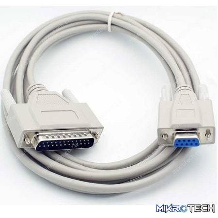 9PIN FEMALE TO 25PIN MALE CABLE