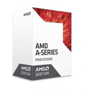 AMD A-Series A8 9600 - Quad (4) Core 3.4GHz Desktop APU (Socket AM4) - With Fan