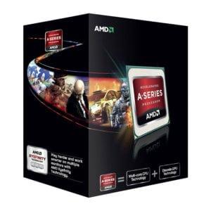 AMD A6-7470K Black Edition - Dual (2) Core 4.0Ghz Desktop APU (Socket FM2+) - With Fan