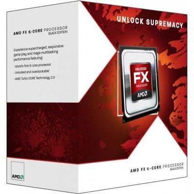 AMD FX-4320 Black Edition - Quad (4) Core 4.2Ghz Desktop CPU  (Socket AM3+) - With Fan