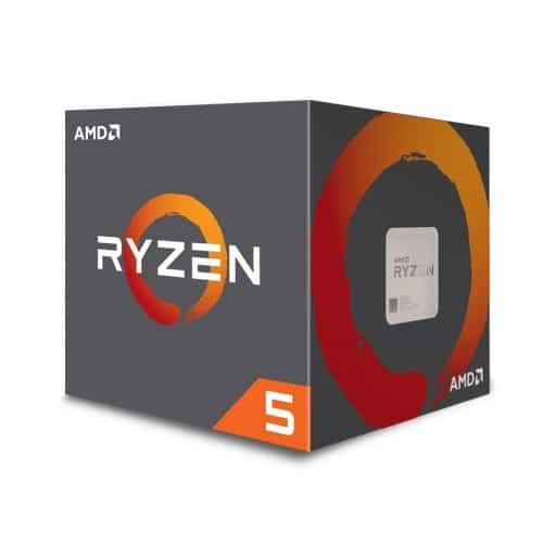 AMD Ryzen 5 2600X - Hexa (6) Core 4.2GHz Desktop CPU (Socket AM4) - With Fan