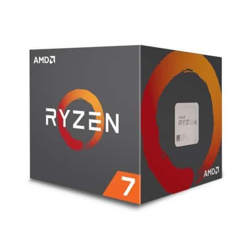 AMD Ryzen 7 2700X - Octa (8) Core 4.3GHz Desktop CPU (Socket AM4) - With RGB Fan