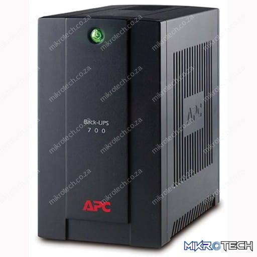 APC BX700UI 700VA/390W USB Black Back-ups with AVR and Power Conditioning