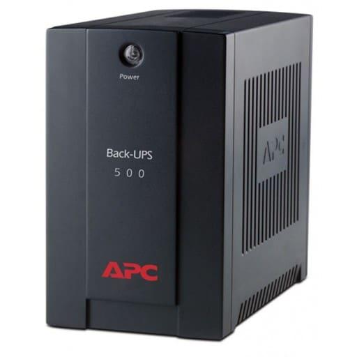APC Back-UPS 300 Watts / 500 VA black with AVR + Power conditioning UPS