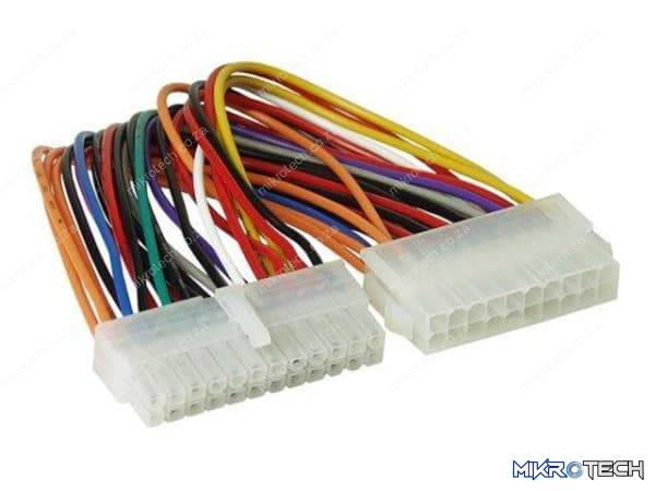 ATX EXTENDER PSU 24-24 PIN CABLE 30CM
