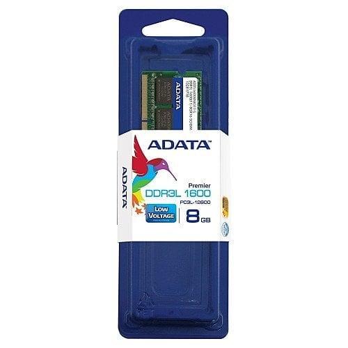 Adata 8GB 1600MHz DDR3 CL11 204 pin 1.35V / 1.5V Dual Voltage Notebook Memory