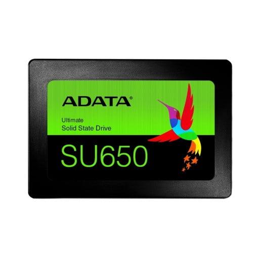 "Adata ASU650SS-960GT-C SU650 960GB 2.5"" 3D NAND SATA 6Gb/s Solid State Drive"