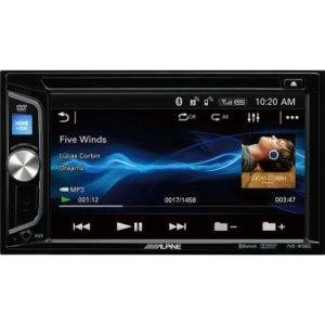 Alpine IVE-W560BT 2-DIN Media Station Autoradio with Bluetooth, USB and DVD/CD Player