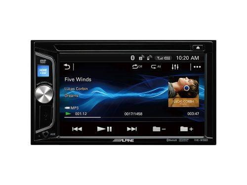 Alpine IVE-W560BT 2-DIN Media Station Autoradio with Bluetooth, USB and DVD/CD Player