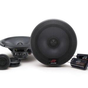 Alpine R-S65 6-1/2? (16.5cm) Coaxial 2-Way R-Series Speaker