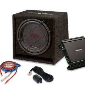 Alpine SBG-30KIT 12? (30cm) High Performance Subwoofer Package