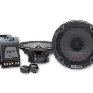 Alpine SPG-17CS 6-1/2? (16.5cm) Component 2-Way Speaker