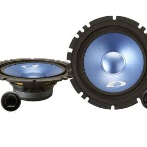 Alpine SXE-17CS 6-1/2? (16.5cm DIN) Component 2-Way Speaker