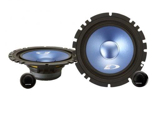 """Alpine SXE-17CS 6-1/2"""" (16.5cm DIN) Component 2-Way Speaker"""