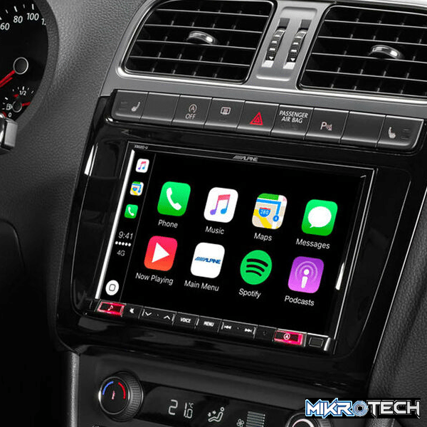 """Alpine X802D-U 8"""" Touch Screen Navigation with TomTom maps"""