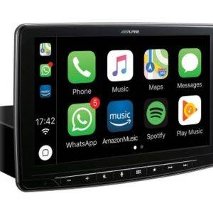 Alpine iLX-702D 7 Digital Media Station, featuring Apple CarPlay and Android Auto compatibility