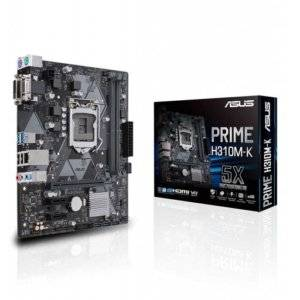 Asus Prime H310M-K Intel H310 Coffee Lake LGA1151 Micro-ATX Desktop Motherboard