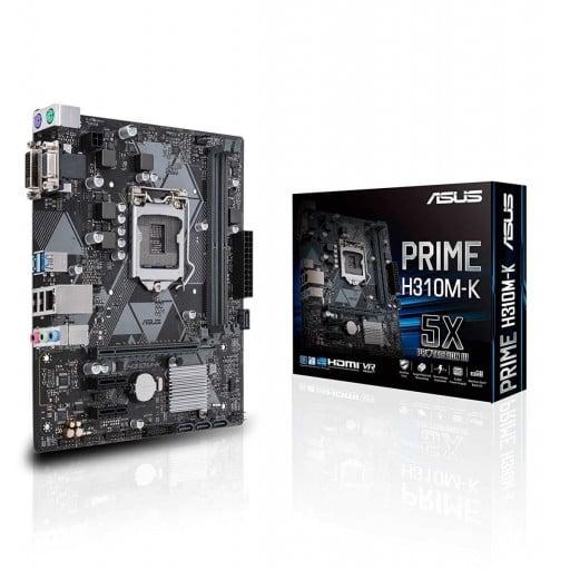 Asus Prime H310M-K Intel H310 Coffee Lake LGA1151 Micro-ATX Desktop Motherboard