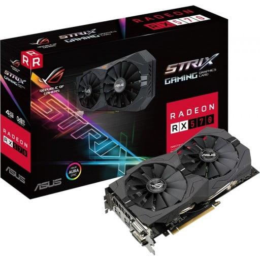 Asus Radeon RX 570 ROG STRIX 4GB GDDR5 Desktop Graphics Card