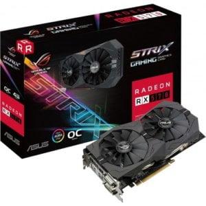 Asus Radeon RX 570 ROG STRIX OC Edition 4GB GDDR5 Desktop Graphics Card