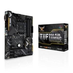 Asus TUF B450-PLUS Gaming AMD B450 AM4 ATX Desktop Motherboard