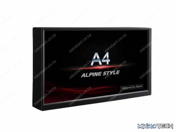 Alpine X702D-A4 7-inch Touch Screen Navigation for Audi A4 with TomTom maps, compatible with Apple CarPlay and Android Auto