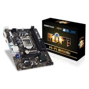 BIOSTAR H150 INTEL SCKT 1151 DDR3