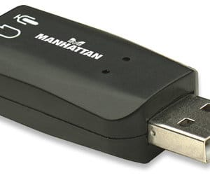 Manhattan Hi Speed USB 3D Sound Adapter