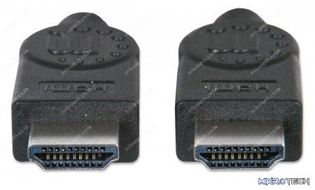 Manhattan HDMI Cable with Ethernet 2m