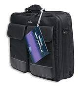 """Manhattan Big Apple Notebook Computer Briefcase - Top Load, Fits Most Widescreens Up To 17"""""""