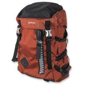 "Manhattan 15.6"" Zippack Notebook Backpack Colour:Orange"
