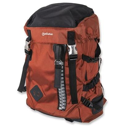 "Manhattan 15.6"" Zippack Notebook Backpack Colour:Orange"