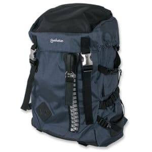 "Manhattan 15.6"" Zippack Notebook Backpack Colour:Blue"
