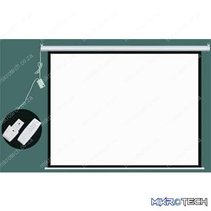 Esquire Electric Projector Screen 300cm X 300cm with RF Remote Control