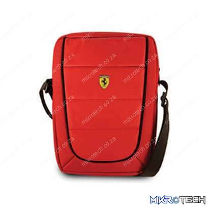 Ferrari Scuderia Pit Stop On Track Collection Stylish Universal Tablet Bag - Fits all Tablets PC's and e-Readers up to 10 inch