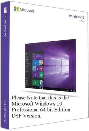 Microsoft Windows 10 Professional 32 Bit Edition - Installation Disc
