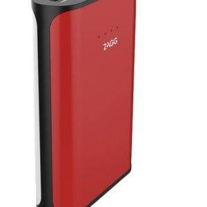 Zagg Ignition 6 Power Bank 6000 MAh Capacity with Flash Light - Red