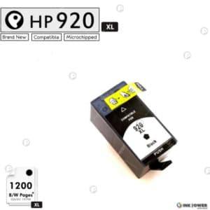 Inkpower Generic for Hp No. 920XL Black Inkjet Print Cartridge