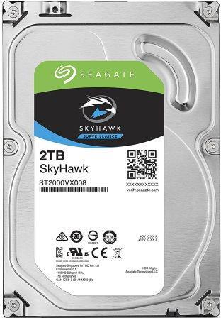 Seagate SkyHawk 2TB 3.5 inch Internal Hard Disk Drive