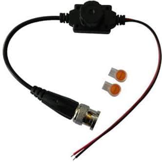 Securnix Single Channel Passive Waterproof UTP Video Balun Transceiver