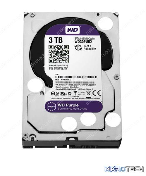 "Western Digital Purple - 3.0TB 3.5"" HDD"